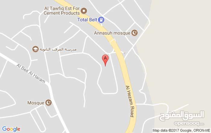 ارض 531 متر للبيع - عمان ماركا المرقب