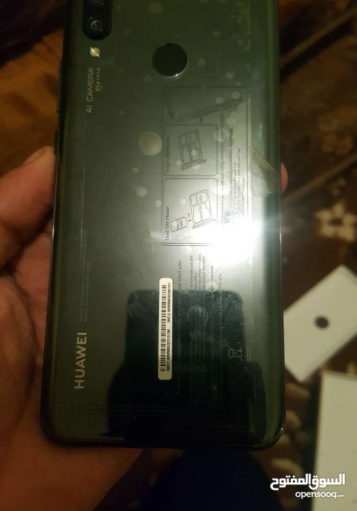 Huawei Nova 3 لون اسود ملوكي