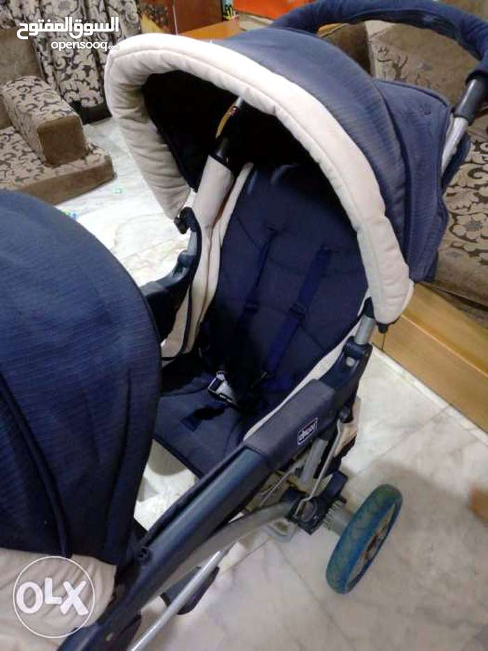 عرباية شيكو twins stroller لطفلين chicco