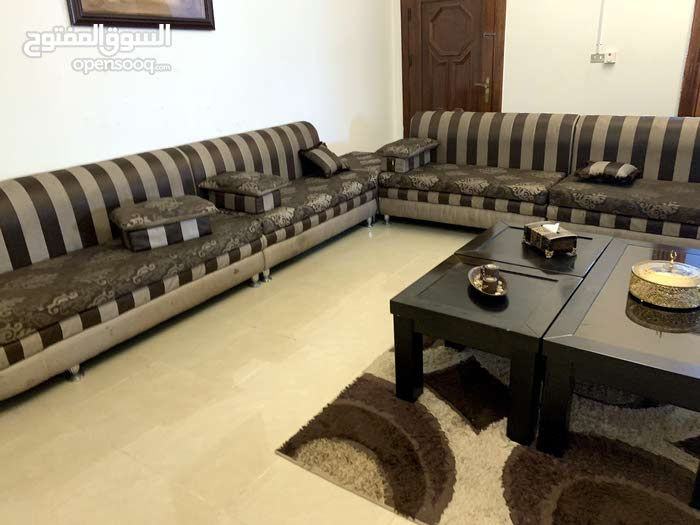 majlis style sofa set with 3 tables