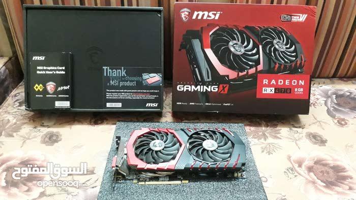MSI AMD Radeon RX 470 8GB Gaming X ! GPU GRAPHICS CARD ! كرت شاشه !