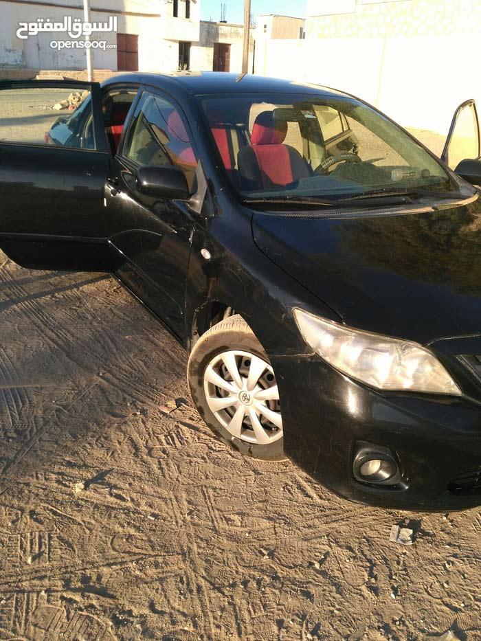 For sale 2012 Black Corolla