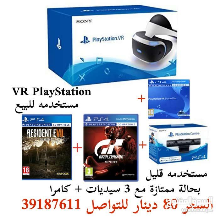 VR PlayStation مستخدمه للبيع