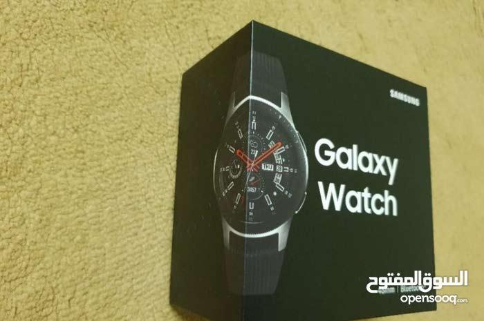 ساعة Galaxy Watch (جديدة) بكرتونه لم تفتح ضد الماء