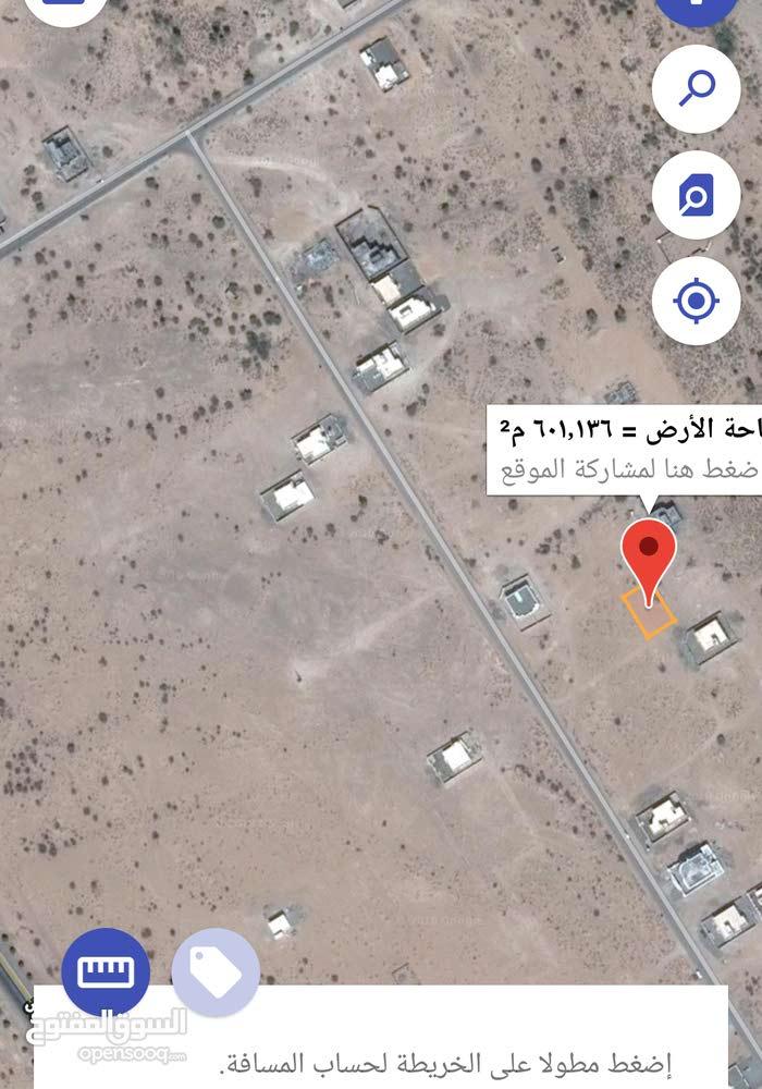 ارض للبيع مخطط سيح المقاحمه لفه صناعيه بو حسن