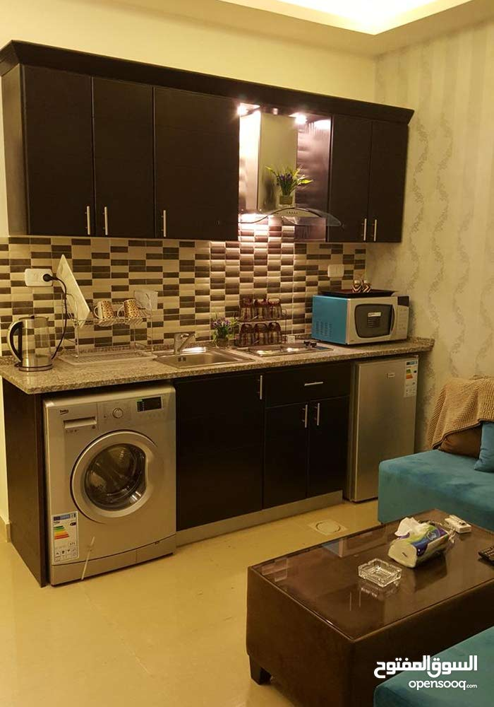 Third Floor  apartment for rent with Studio rooms - Amman city 7th Circle