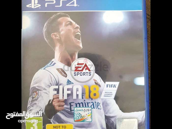 fifa 18 game for ps4 very clean for sale or trade