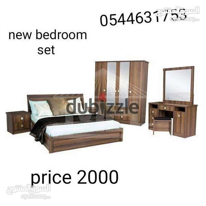 للبيع غرفة نوم مجموعة جديدة والعديد من الألوان المتاحة مثل أسود اللون البني