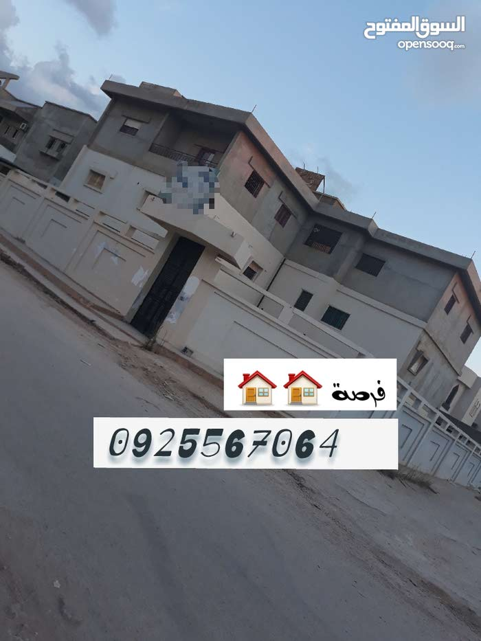 Luxurious 1000 sqm Villa for sale in BenghaziTabalino