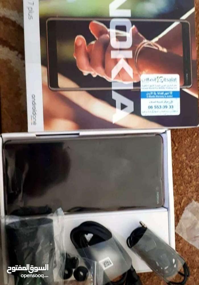 للبيع نوكيا 7 بلس مستعمل بحالة الوكالة Nokia 7 Plus used for sale