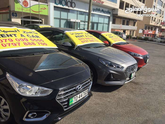 Hyundai Accent 2019 for rent per Day
