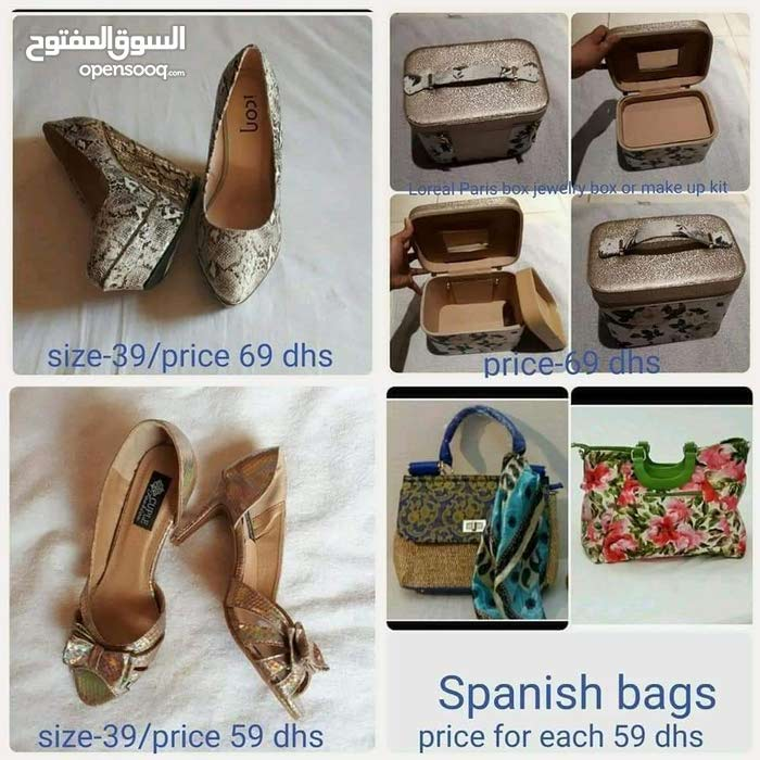 LADIES CLOTHES AND SHOES SANDALS AND BAGS