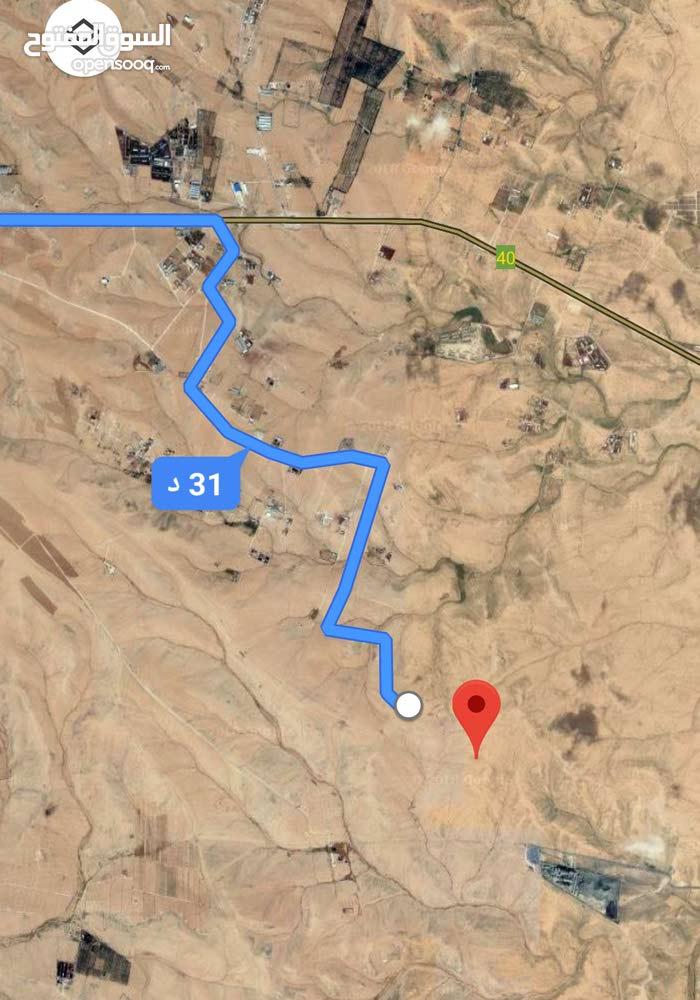 للبيع ارض 4.4 دونم في الموقر الحمد و القضاه