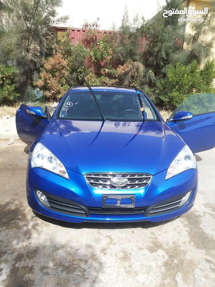 Blue Hyundai Genesis 2010 for sale