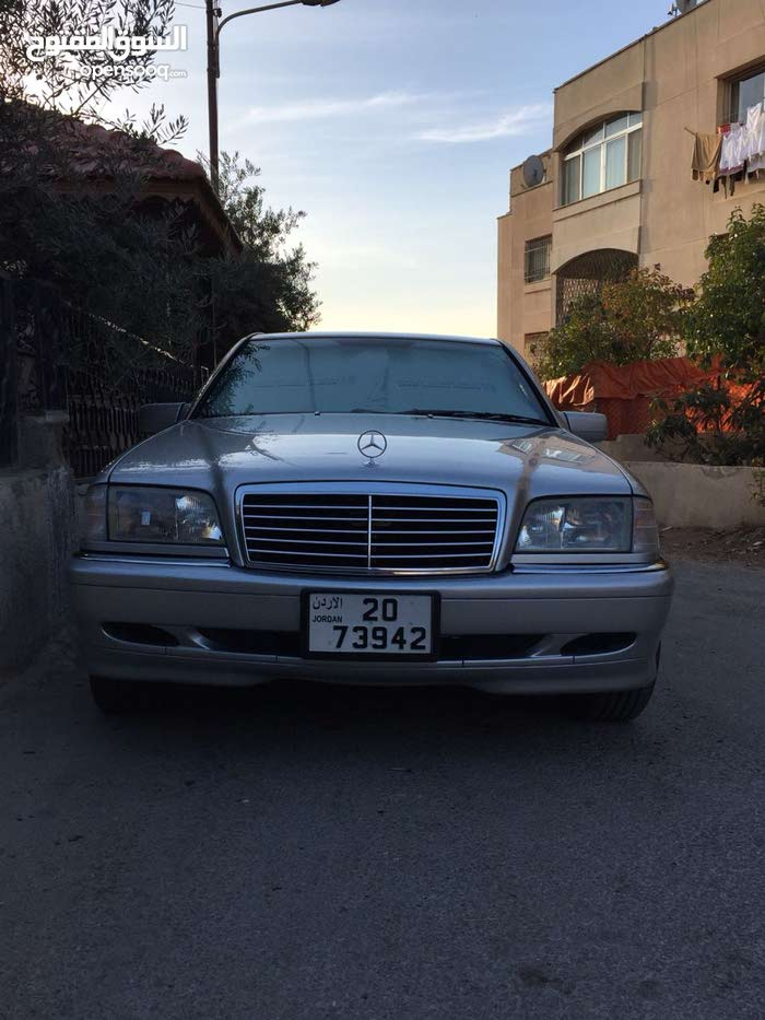 مرسيدس بنز c180  للبيع 1995