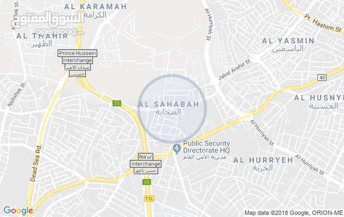 شقة طابق أرضي مع ترس مساحة 235م/ حي الصحابة 42