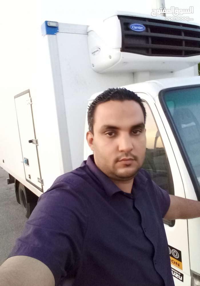 سائق نقل تقيل