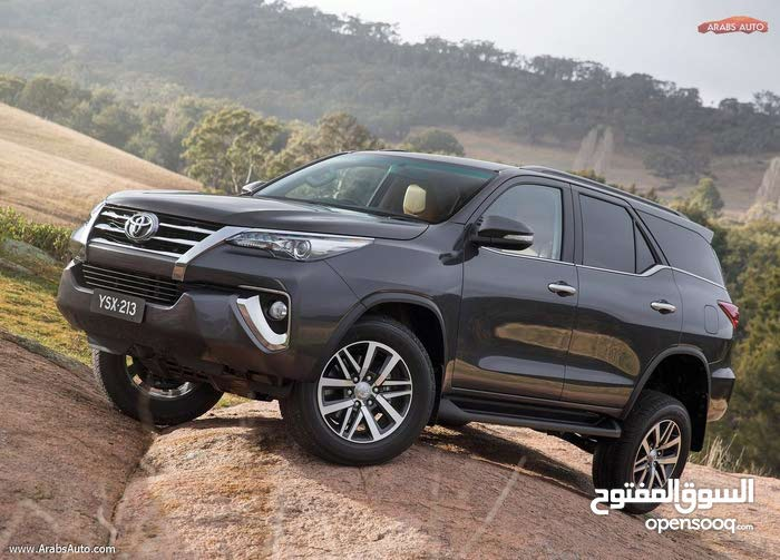 Toyota Fortuner 2018 for rent