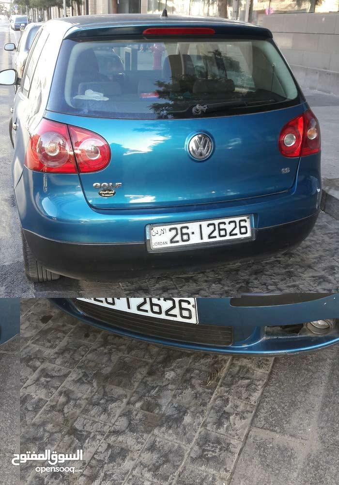 Blue Volkswagen Golf 2007 for sale