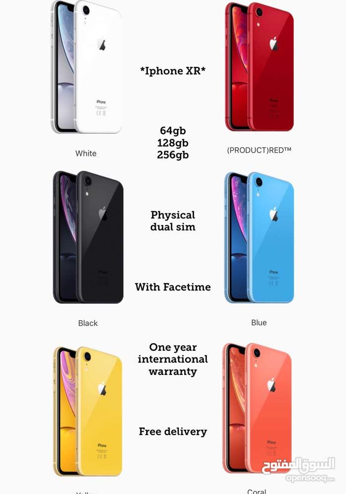 iphone XR 256gb 128gb 64gb