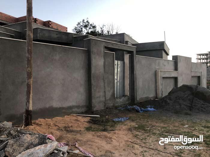 منزل ارضي واجهتين في منطقة السبعة (بالقرب من مشروع الموز)