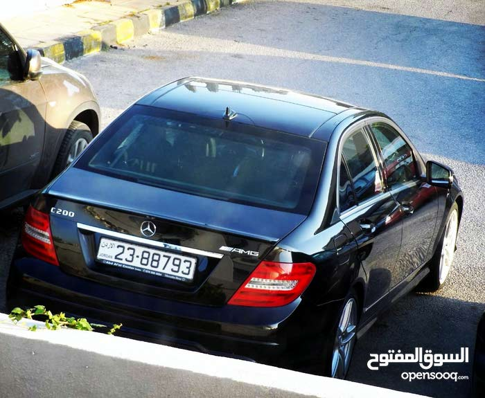 Mercedes Benz C 200 made in 2013 for sale (64000 km)