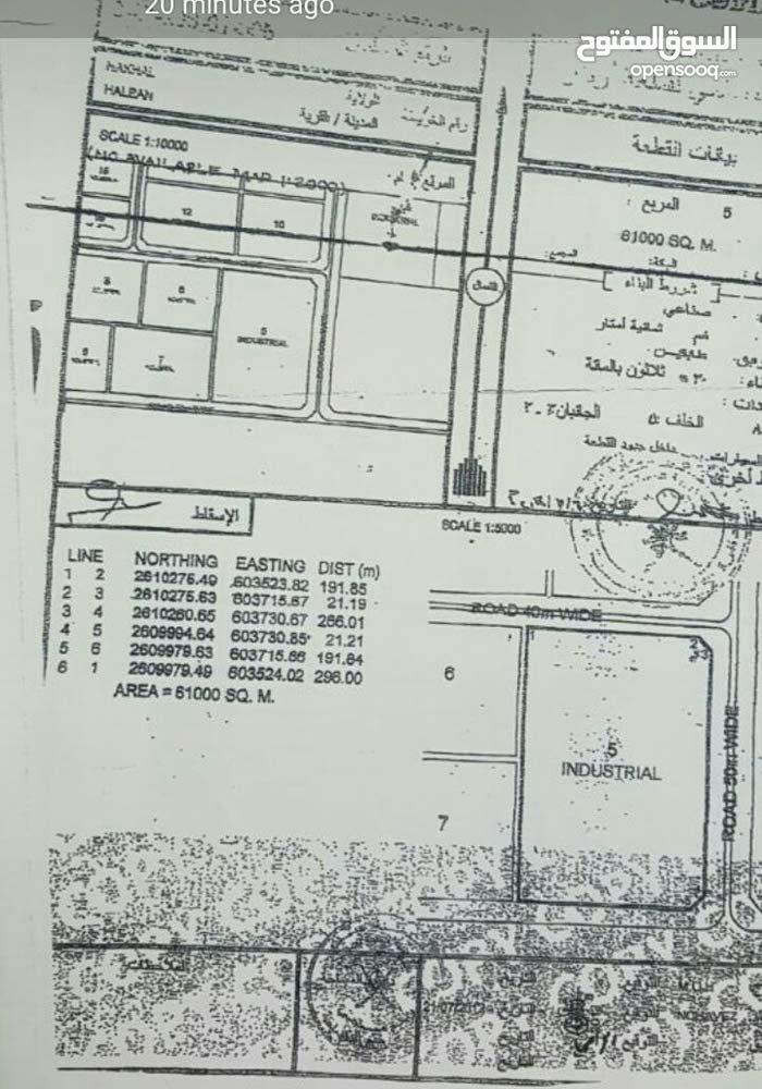 ارض صناعي للبيع حلبان