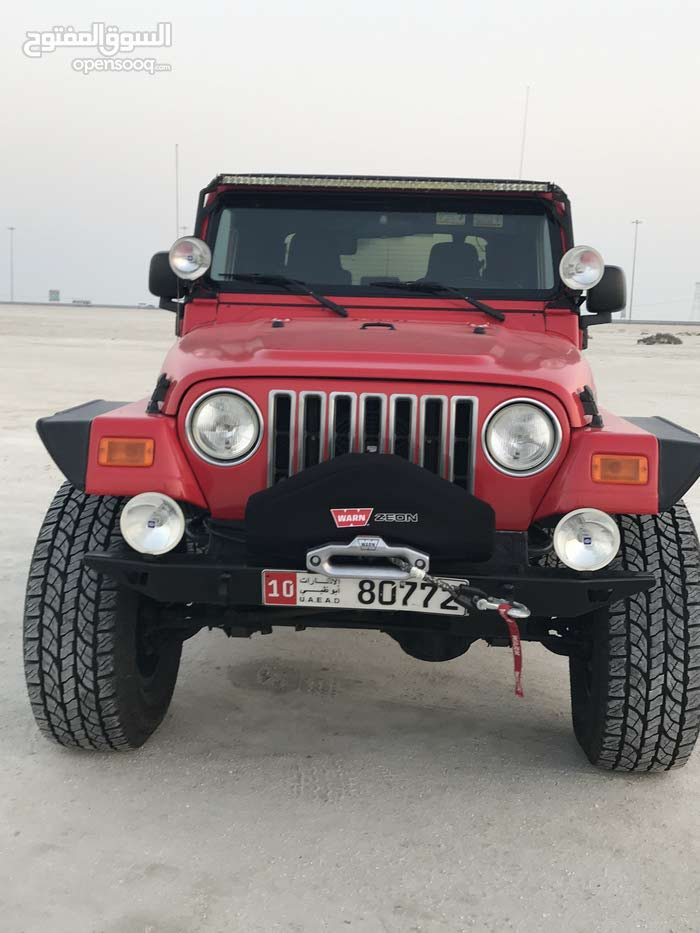 2006 jeep  wrangler gcc Long travel