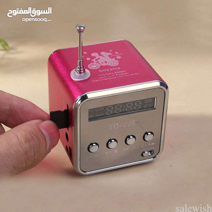 TD-V26 Mini USB TF Stereo Media Speaker Music Player FM Radio Mp3 High Property