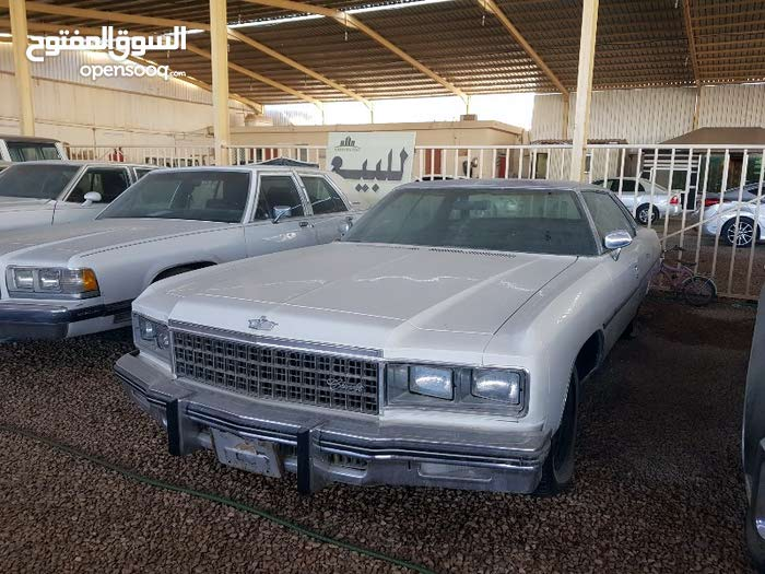 White Chevrolet Caprice 1976 for sale