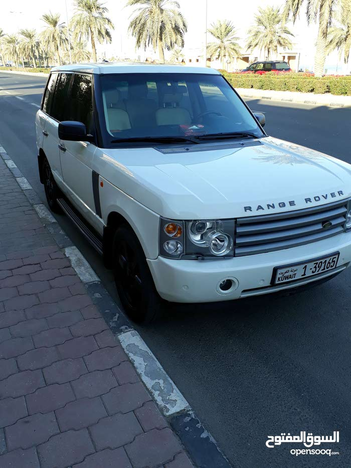 For sale 2005 White Range Rover HSE