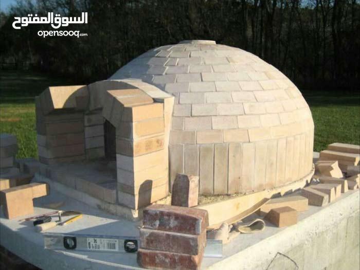 فني بناء افران البيتزا والخبز العربي والشوايات والدفايات