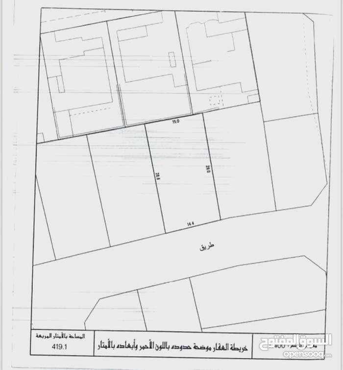 للبيع أرض سكنية في باربار 419 م