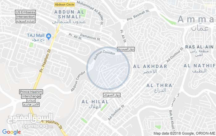 apartment for rent with  rooms - Amman city Hai Nazzal