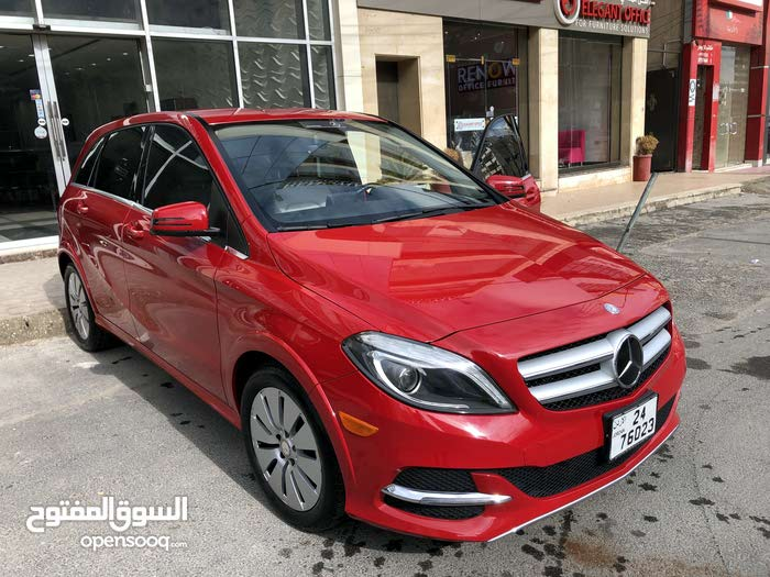 Red Mercedes Benz B Class 2014 For Sale 107070730 Opensooq