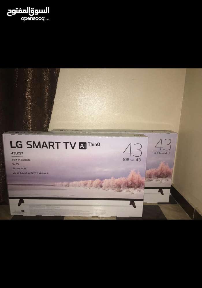 شاشة ال جي 43 بوصه smart 4K