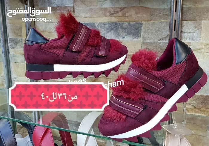 أحذية وجزادين وشو لازمكن موجود عنا وشحن لكافاة المحافظات السورية ااكميات محدودة