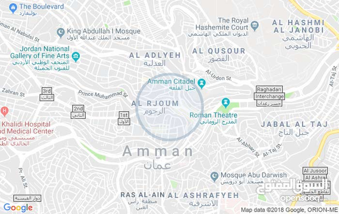 for sale apartment consists of 3 Rooms - Jabal Al Hussain