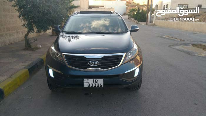 For sale 2012 Blue Sportage