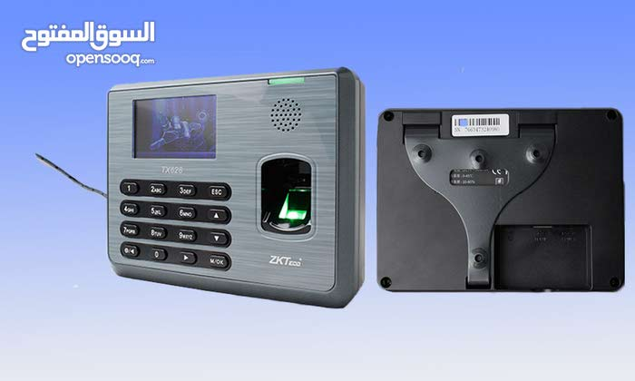 جهاز مراقبة الدوام وحساب الرواتب نوع Tx628 ZKSoftware