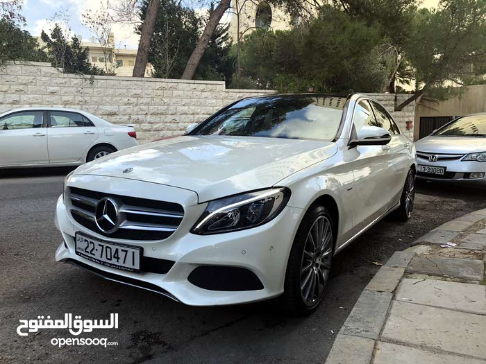 Mercedes Benz C 350 car for sale 2018 in Amman city