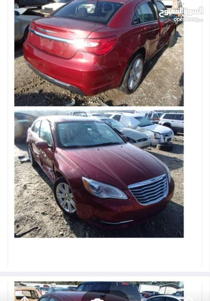 Maroon Chrysler 200 2013 for sale