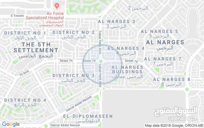 apartment located in Cairo for rent - Fifth Settlement