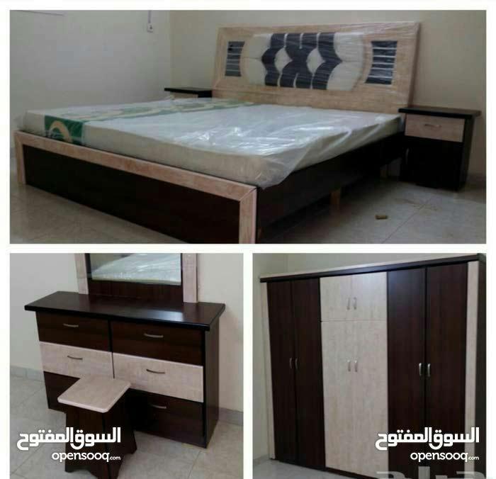 (غرف نوم جديد :1800 شامله التوصيل والتركيب)