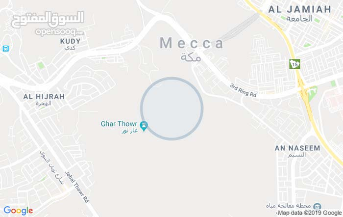   شقة مكه الشافعي 4غرف مدخلين 3 حمامات للإيجار