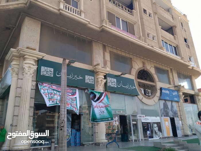 تملك وقسط محلك خلف مسجد الحصرى بافضل سعر