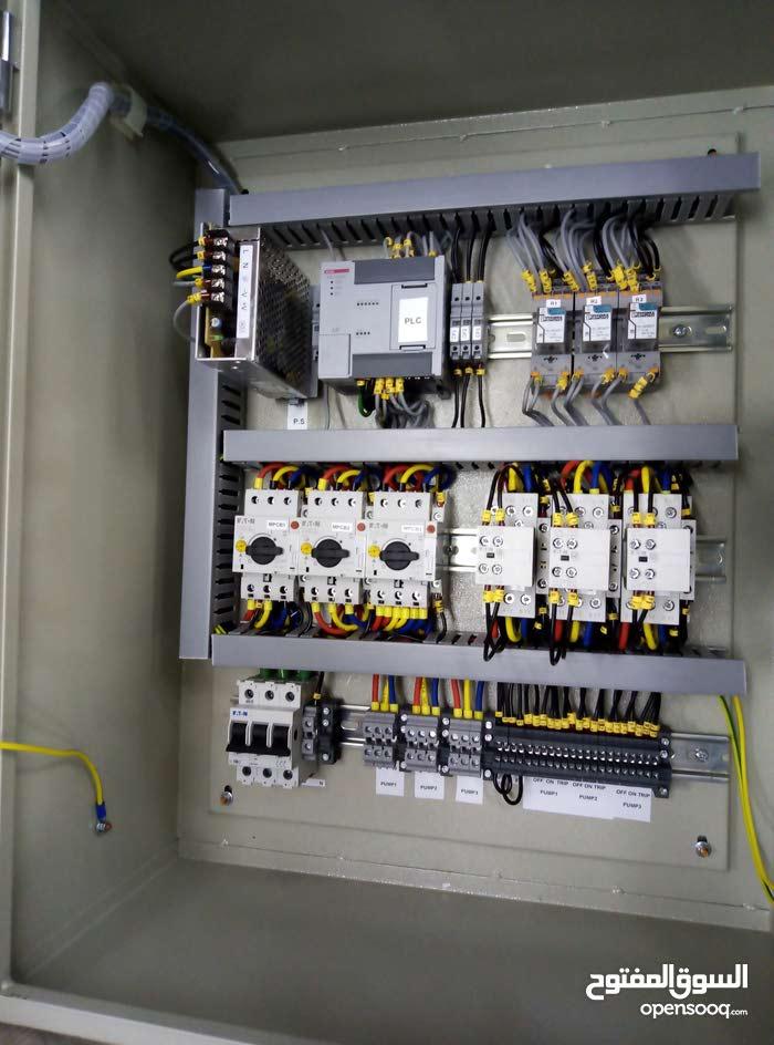 تصميم و تنفيذ و صيانة و إصلاح دوائر التحكم