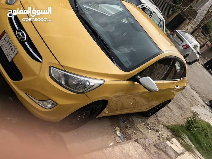 Hyundai Accent car for sale 2015 in Baghdad city