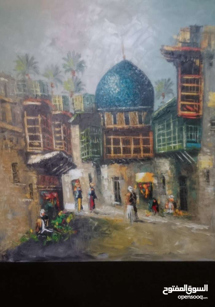 Sharjah –New Paintings - Frames available for immediate sale