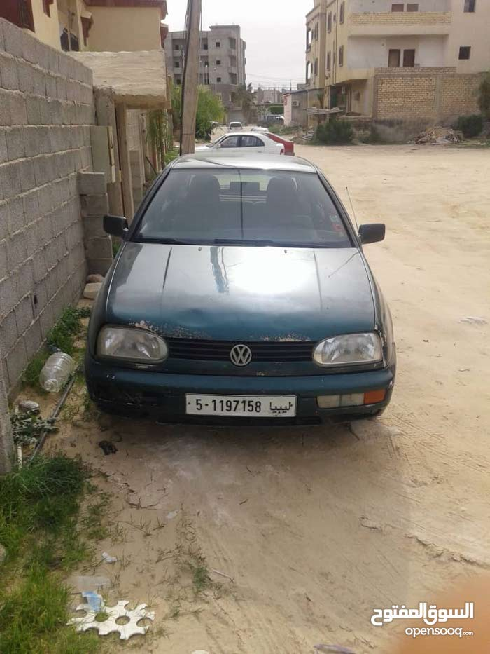 Volkswagen Golf 1998 For sale - Green color